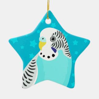 Sweet Bird Parakeet Christmas Ornament