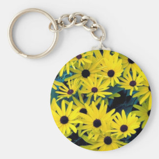Sweet black-eyed susan keychain