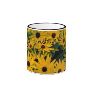Sweet Black Eyed Susans Flowers Coffee Mug Cup