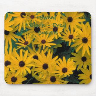 Sweet Black Eyed Susans Flowers Mousepad