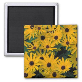 Sweet Black Eyed Susans FlowersFridge Magnet