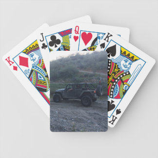 Sweet Black Jeep Bicycle Poker Cards