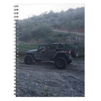 Sweet Black Jeep Notebook