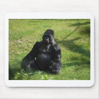 Sweet Black Monkey Gorilla Mousepads