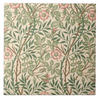 'Sweet Briar' design for wallpaper, printed by Joh Tile
