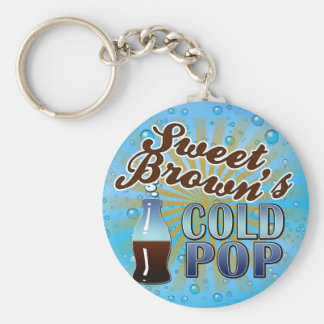 Sweet Brown's Cold Pop Basic Round Button Key Ring
