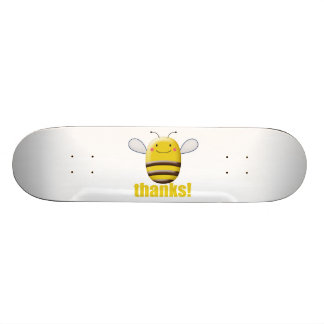 Sweet Bumble Bee Says Thanks 18.1 Cm Old School Skateboard Deck
