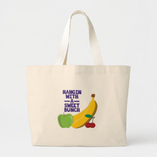 Sweet Bunch Large Tote Bag