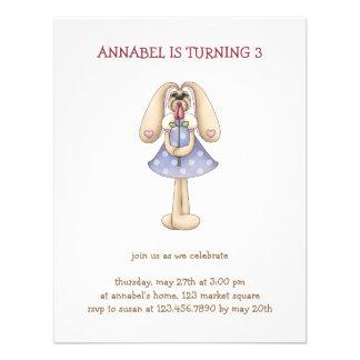 Sweet Bunnies · Bunny Rose Invitation