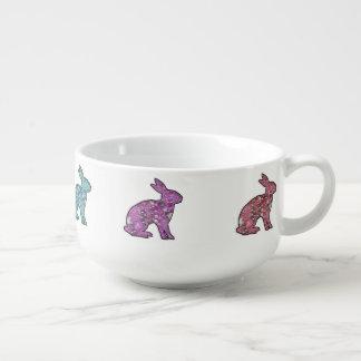 Sweet Bunnies Soup Mug