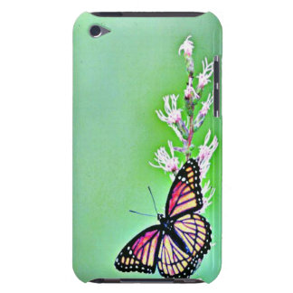 Sweet Butterfly and Flowers iPod Touch Case-Mate Case