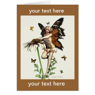 Sweet Butterfly Fae card