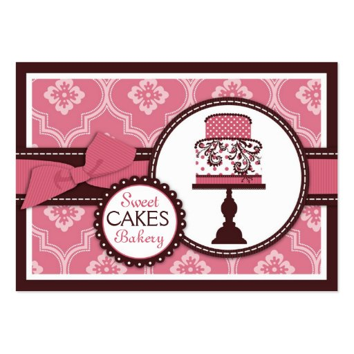 Premium bakery business card templates sweet cake business card cheaphphosting Images