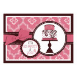 Sweet Cake TY Gift Tag Business Card Template