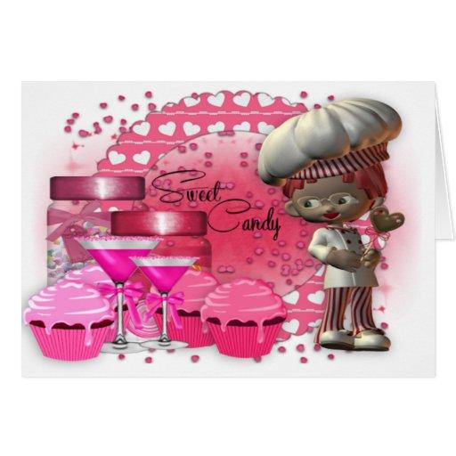 Sweet Candy Birthday Card