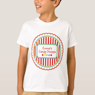 Sweet Candy  Circus Stripes T-Shirt