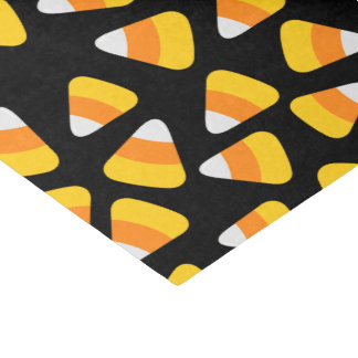 Sweet Candy Corn Halloween Tissue Paper
