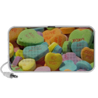 Sweet Candy Hearts Mp3 Speakers