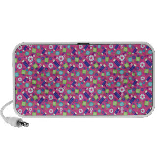Sweet Candy Land Treats iPhone Portable Speaker