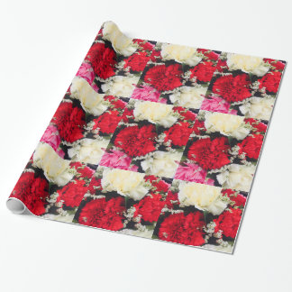 Sweet carnations wrapping paper