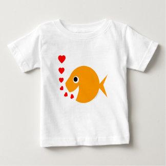 Sweet Cartoon Goldfish Valentine Creeper
