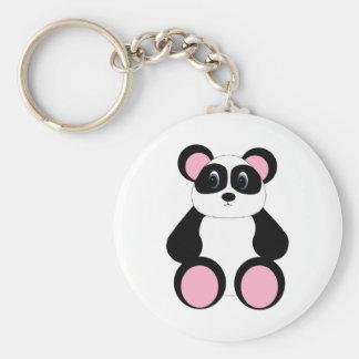 Sweet Cartoon Panda Bear Key Chain