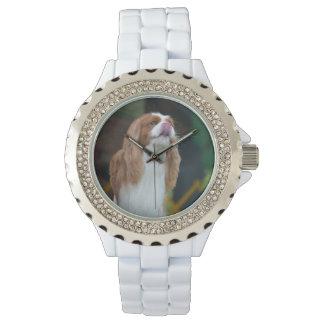 Sweet Cavalier King Charles Spaniel Wrist Watch