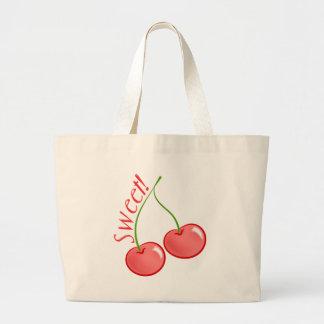 Sweet Cherries Canvas Bag