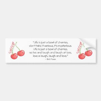 Sweet Cherries Bumper Sticker