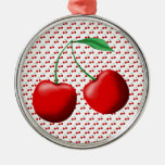 Sweet Cherries Christmas Tree Ornaments