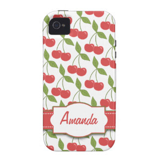 Sweet Cherries iPhone 4 Case-Mate Tough™ Case For The iPhone 4