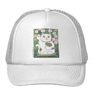 Sweet Cherry Blossom Neko Cap