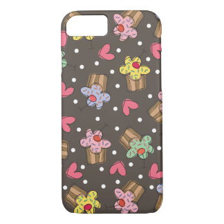 Sweet Cherry Cupcakes Confectionery Bakery Cute iPhone 7 Case