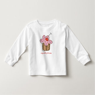 Sweet Cherry Cupcakes Confectionery Bakery Cute Toddler T-Shirt