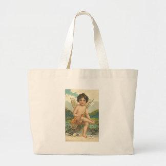 Sweet Cherubs Tote Bags