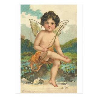 Sweet Cherubs Postcard