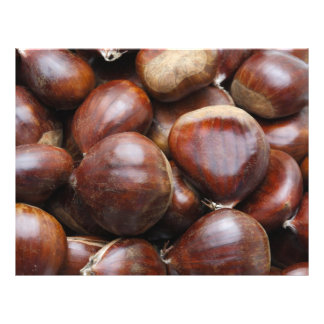 Sweet chestnuts 21.5 cm x 28 cm flyer