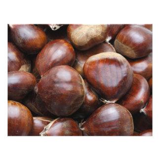 Sweet chestnuts 21.5 cm x 28 cm flyer