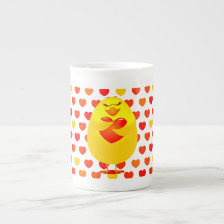 Sweet chick in love, china mug
