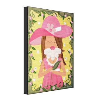 Sweet Child of Mine - 16x20 Girls Kids Wall Art Stretched Canvas Print