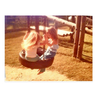 Sweet Childhood Postcard