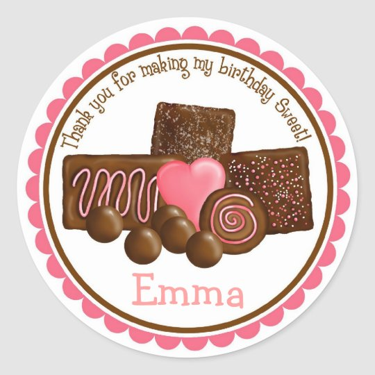 Sweet Chocolates Stickers