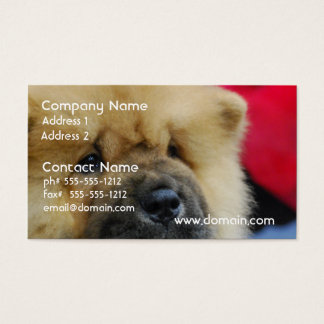 Sweet Chow Chow Business Card