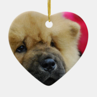 Sweet Chow Chow Christmas Ornament