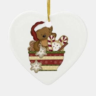 Sweet Christmas Bear Christmas Ornament