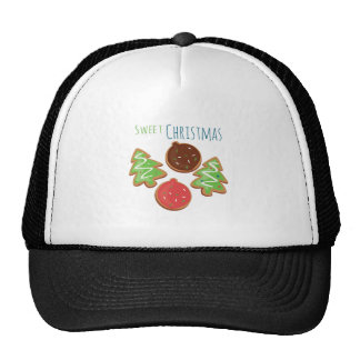 Sweet Christmas Mesh Hat