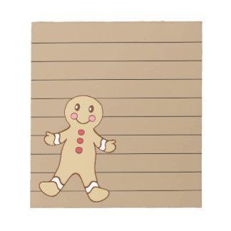 Sweet Christmas Cookie Notepad