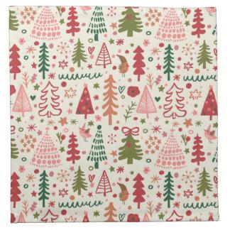 Sweet Christmas Pattern Napkin