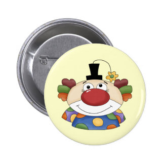 Sweet Clown Face 6 Cm Round Badge