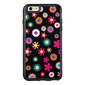 Sweet Colorful Flower and Dots Design Phone Casing OtterBox iPhone 6/6s Plus Case
